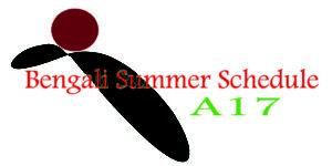 Bengali Summer Schedule 2017 - Ashik