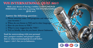 VOI International Quiz 2017